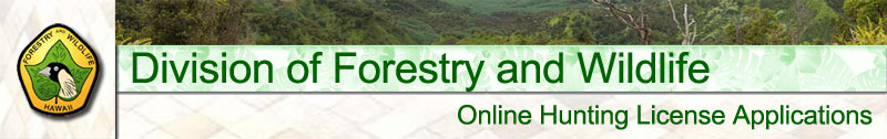 Hawai`i Department of Forestry and Wildlife
